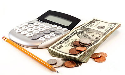 Accounting Photograph - Personal Finance And Accounting by Blink Images