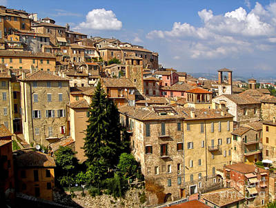Perugia Italy - 01 Art Print by Gregory Dyer