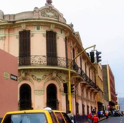 Peruvian Streets Art Print