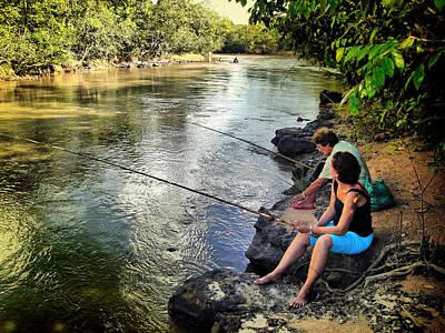 Photograph - Pescadoras 1 by Beto Machado