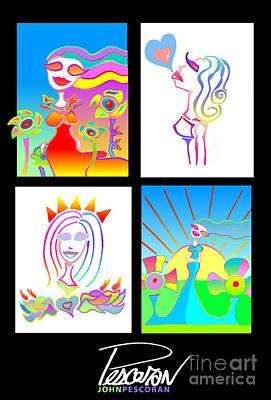 Pescoran Love Will Blossom Series Art Print
