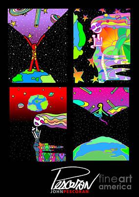 Pescoran Play Until You Dream Series Art Print