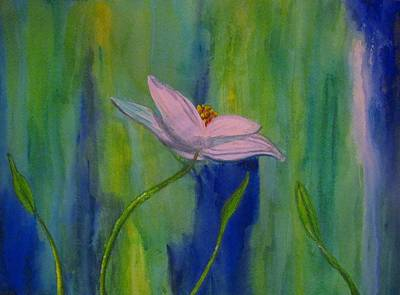 Summer Painting - Petals In The Mist by Suzanne Godau