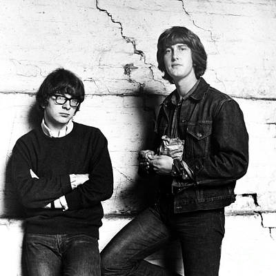 Photograph - Peter And Gordon 1964 by Chris Walter