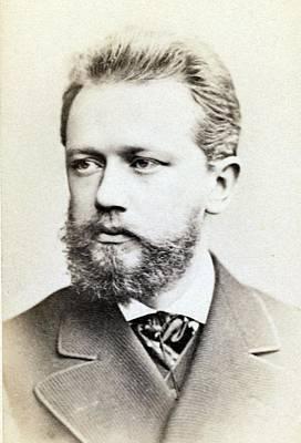 Peter Ilich Tchaikovsky 1840-1893 Art Print