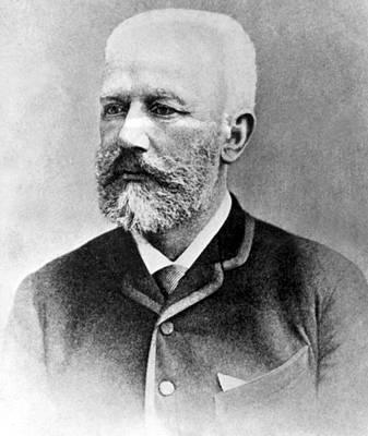 Peter Ilyitch Tchaikovsky, Russian Print by Everett