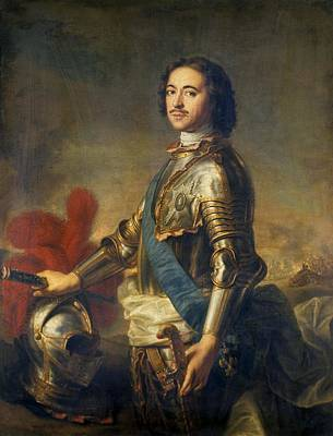 Peter The Great, Russian Tsar Art Print