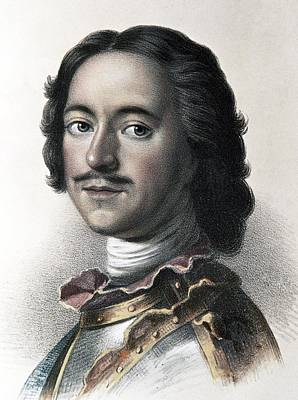 Peter The Great, Tsar Of Russia Art Print