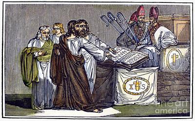 Peter Waldo (d. C1218) Art Print by Granger