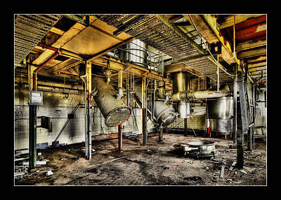 Digital Art - Peters Factory 03 by Kevin Chippindall