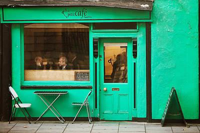 Photograph - Petit Cafe by John Galbo