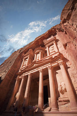 Petra Photograph - Petra, Jordan by Michael Holst Images