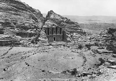 Petra, Jordan Art Print by Photo Researchers