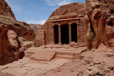 Petra Photograph - Petra's Garden Temple by Dan Wiklund