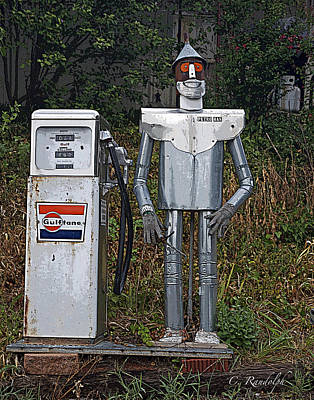 Photograph - Petro Man by Cheri Randolph