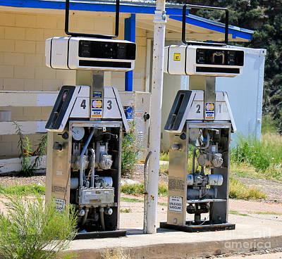 Photograph - Petroleum Robots by Pamela Walrath