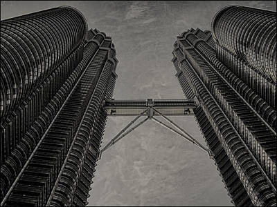 Photograph - Petronas Towers In Kl Malaysia. by Zoe Ferrie