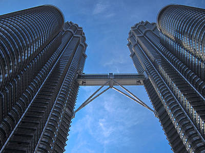 Photograph - Petronas Towers by Zoe Ferrie