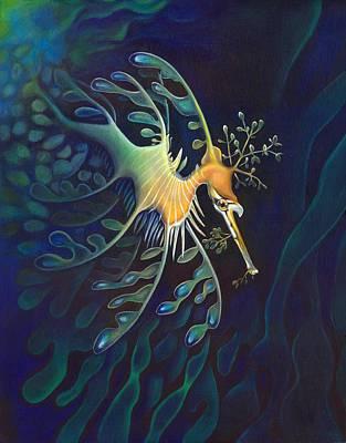 Phantasmagoric Conception Art Print by Sym