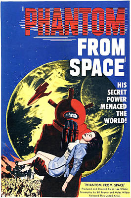 Phantom From Space, Noreen Nash, 1953 Art Print by Everett