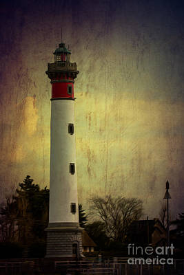 Photograph - Phare De Ouistreham Or Ouistreham Lighthouse    Caen by Clare Bambers