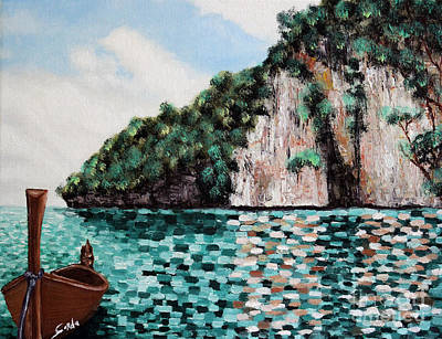 Phi Phi Island Art Print by Seth Corda