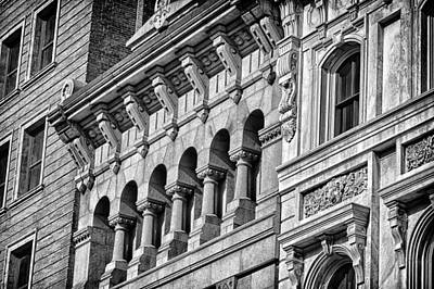 Photograph - Philadelphia Building Detail 2 by Val Black Russian Tourchin
