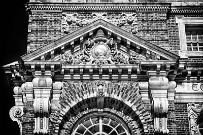 Photograph - Philadelphia Building Detail 3 by Val Black Russian Tourchin