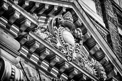 Photograph - Philadelphia Building Detail 7 by Val Black Russian Tourchin