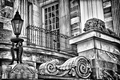 Photograph - Philadelphia Building Detail 8 by Val Black Russian Tourchin