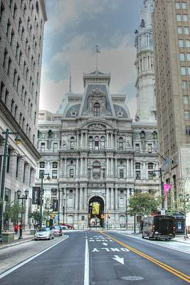Photograph - Philadelphia City Hall by Sandi Blood