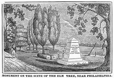 Philadelphia: Elm Monument Art Print