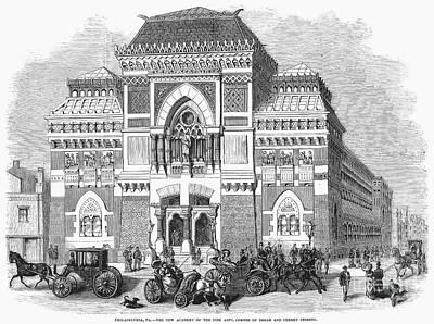 Philadelphia: Museum, 1876 Art Print