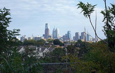 Philadelphia Skyline Photograph - Philadelphia Skyline by Gregory Grant