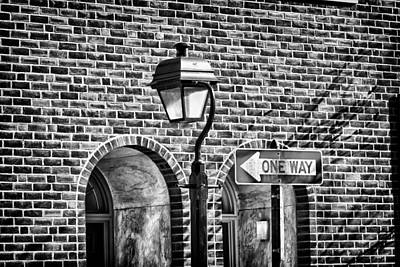 Photograph - Philadelphia Street Lamp 1 by Val Black Russian Tourchin