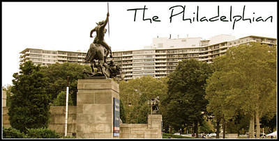 Photograph - Philadelphian View From Museum by Alice Gipson