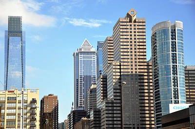 Photograph - Philadlephia Skyline by Andrew Dinh