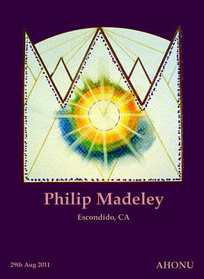 Philip Madeley Art Print by Ahonu