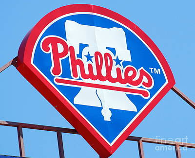Phillies Logo Art Print by Carol Christopher