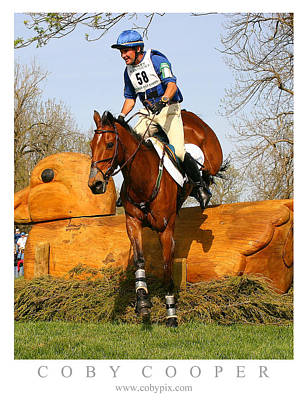 Photograph - Phillip Dutton Winning Rolex by Coby Cooper