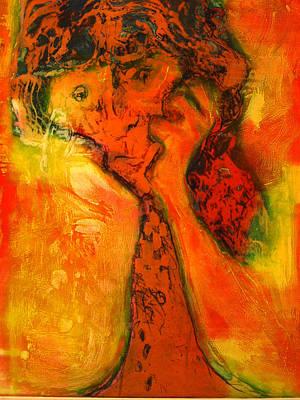 Painting - Hoodoo Man by Tim  Heimdal