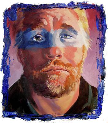 Phillip Seymour Hoffman Art Print by Ken Meyer jr
