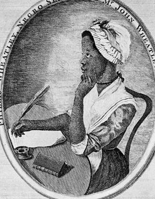 Phillis Wheatley 1753-1784, The First Art Print