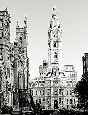 Photograph - Philly City Hall North by Nick Zelinsky