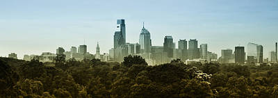 Philly Panorama Art Print by Bill Cannon