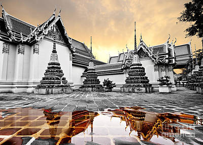 Pho Temple Original by Anek Suwannaphoom