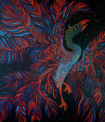Painting - Phoenix by Monica Furlow