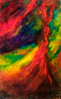 Painting - Phoenix by Shannon Grissom