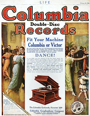 Phonograph Ad, 1914 Art Print by Granger