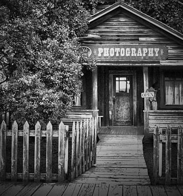 Photo Shop  Art Print by Jerry Cordeiro